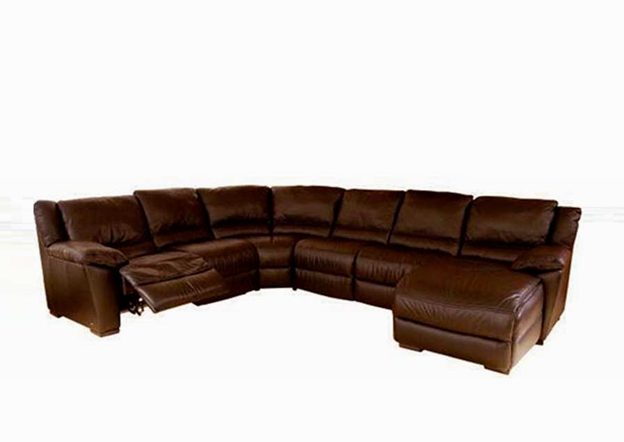 unique sectional leather sofa model-Stylish Sectional Leather sofa Image