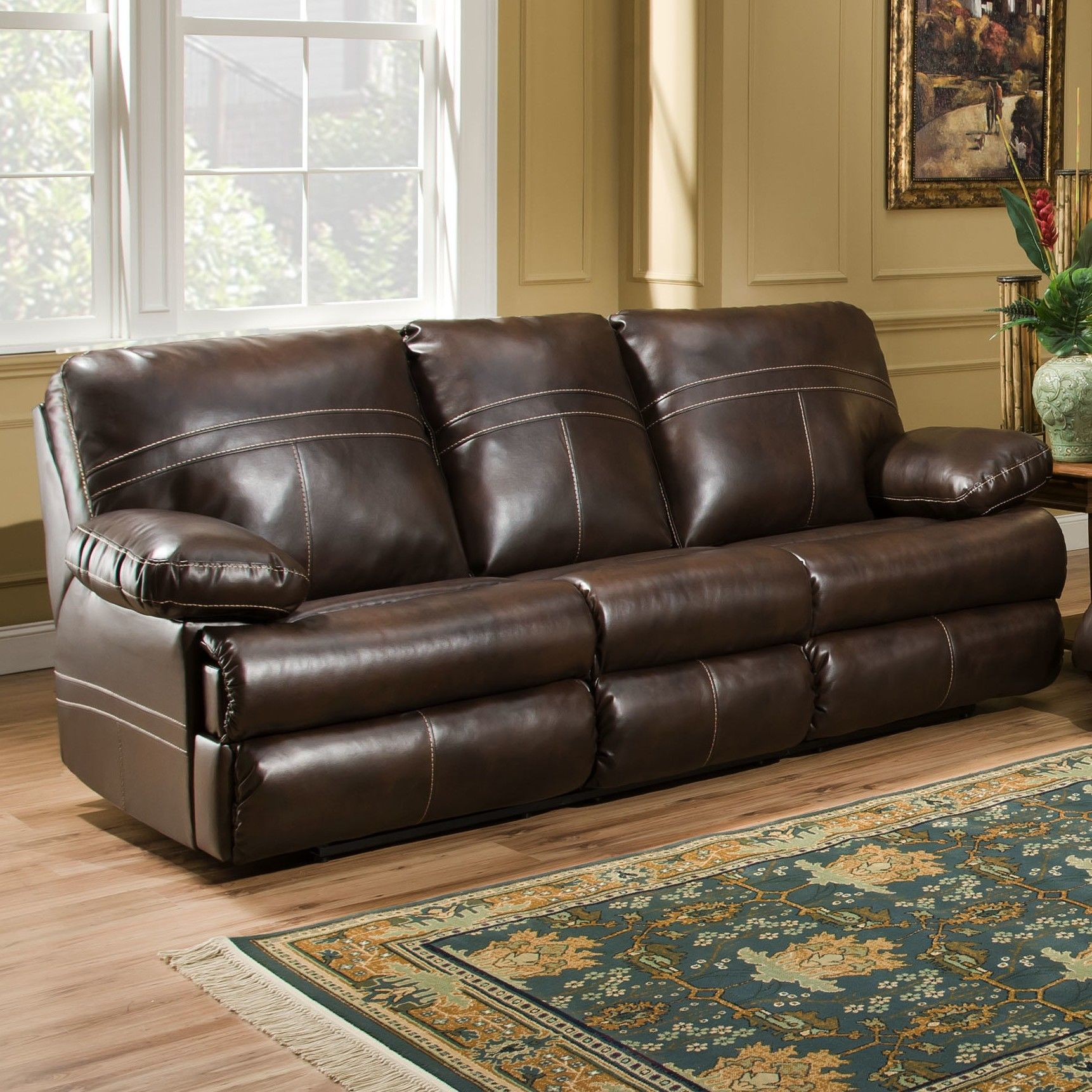 Beautiful Simmons Flannel Charcoal Sofa Concept Modern