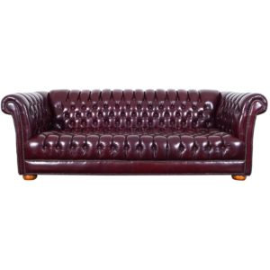 Vintage Chesterfield sofa Modern Vintage Burgundy Leather Chesterfield sofa for Sale at 1stdibs Ideas