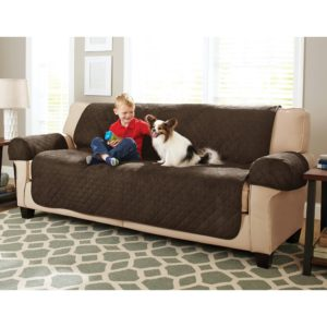Waterproof sofa Cover Best Better Homes and Gardens Waterproof Non Slip Faux Suede Pet Portrait