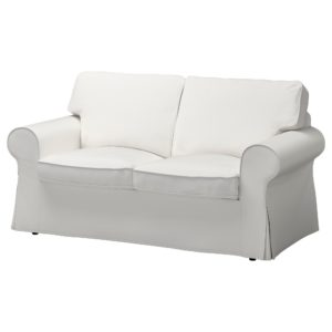 White Fabric sofa top Ektorp Loveseat Vittaryd White Ikea Photograph