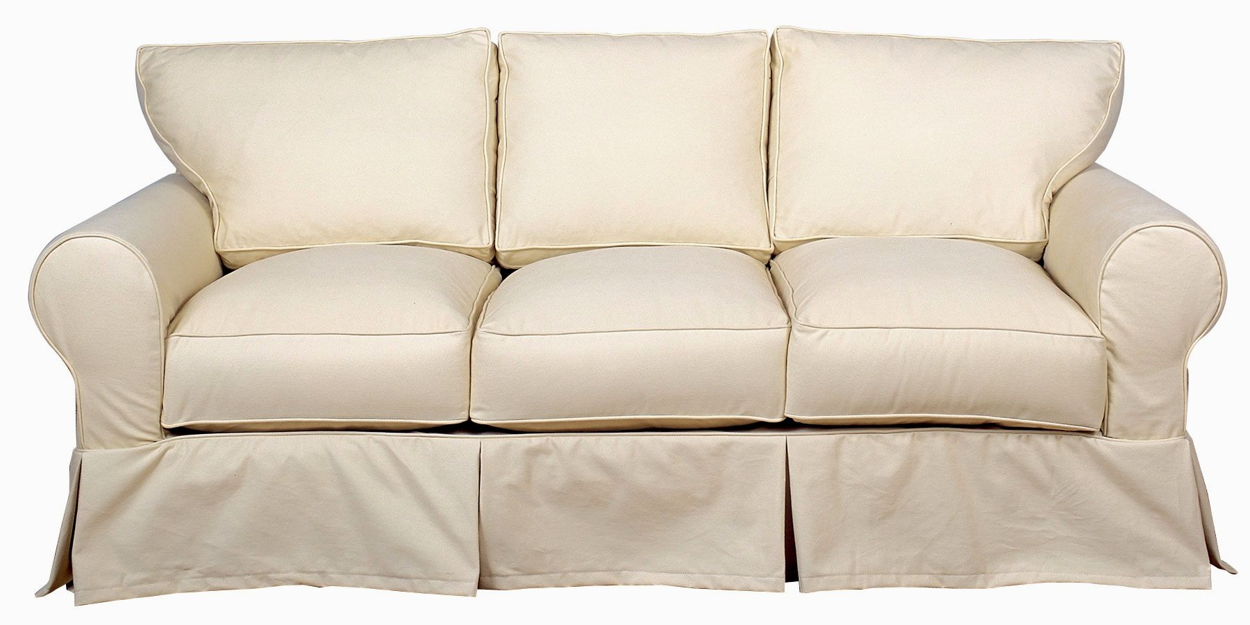 Beau Wonderful 2 Piece T Cushion Sofa Slipcover Design Unique 2 Piece T Cushion  Sofa Slipcover