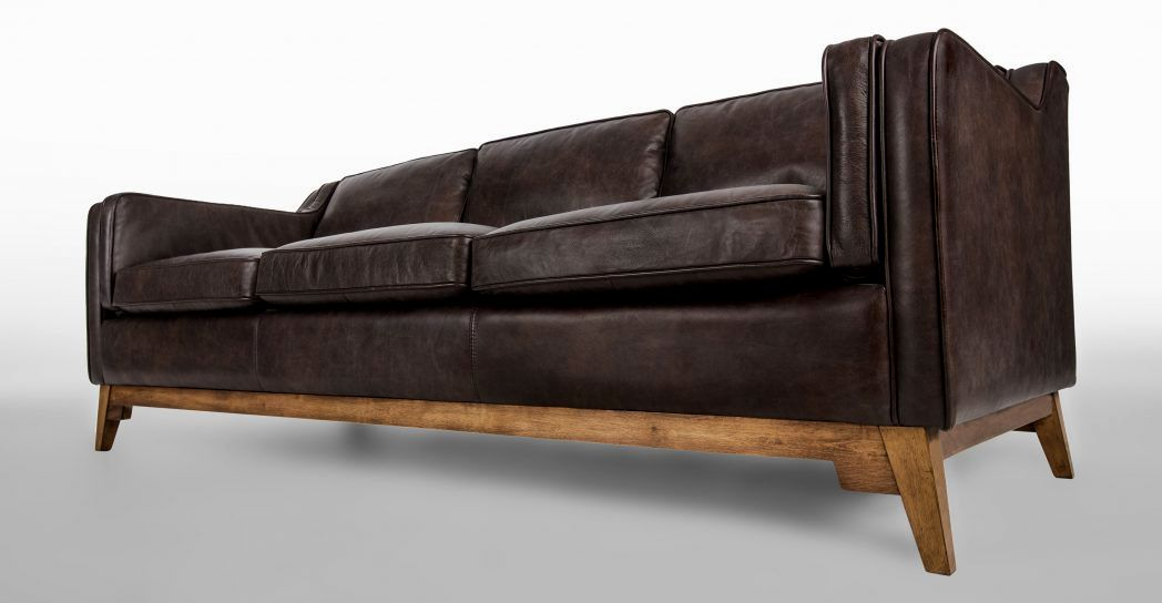wonderful crate and barrel leather sofa photo-Stunning Crate and Barrel Leather sofa Picture