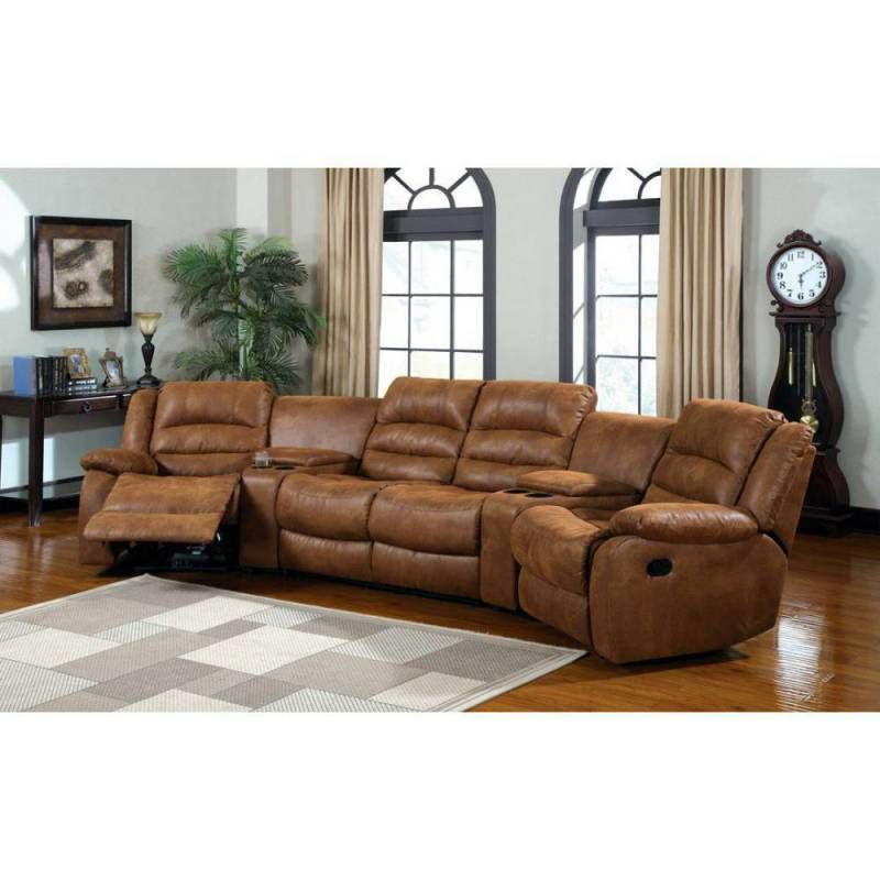 wonderful curved reclining sofa picture-Wonderful Curved Reclining sofa Décor