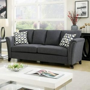 wonderful gray sofa with nailhead trim pattern-Stylish Gray sofa with Nailhead Trim Ideas