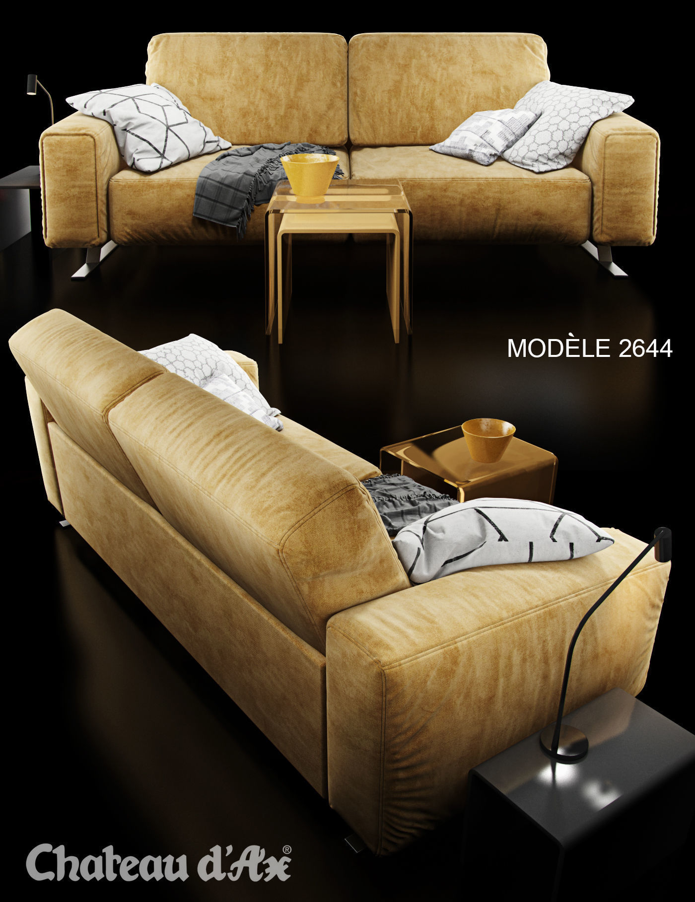 awesome chateau d ax leather sofa model-Superb Chateau D Ax Leather sofa Decoration