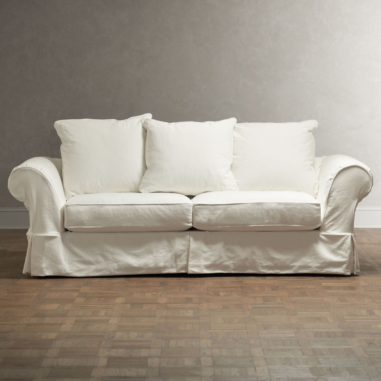 Best Slipcover Sofa Pottery Barn Portrait Modern Sofa