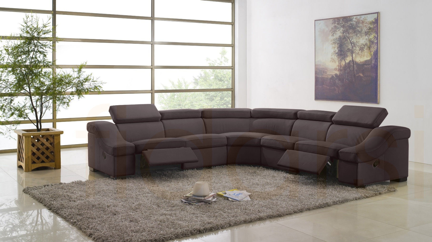 fantastic modern recliner sofa image-Wonderful Modern Recliner sofa Picture