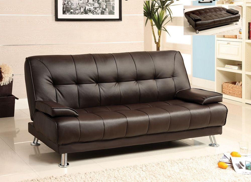 lovely leather futon sofa bed image-Inspirational Leather Futon sofa Bed Portrait