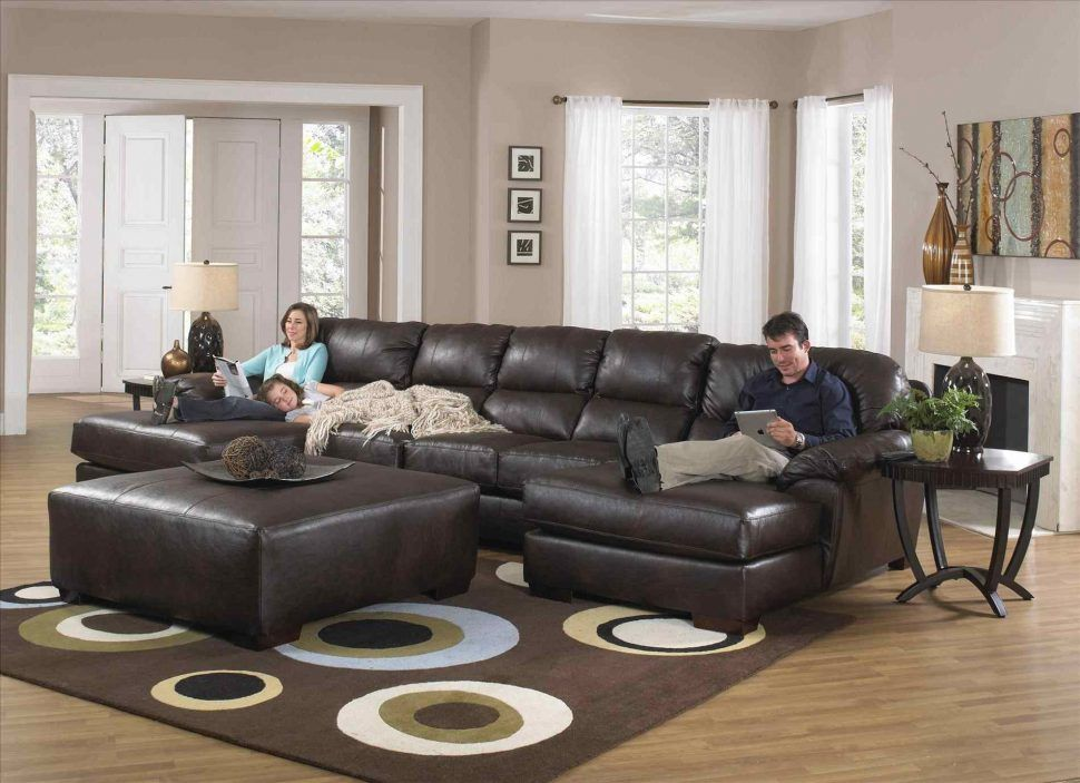 sensational leather sectional sofa with recliner décor-Cool Leather Sectional sofa with Recliner Design