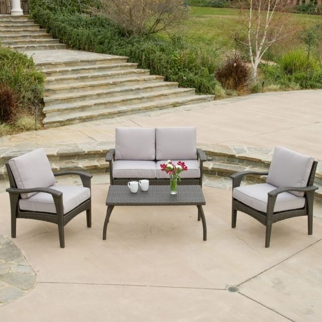 terrific christopher knight home puerta grey outdoor wicker sofa set photo-Fancy Christopher Knight Home Puerta Grey Outdoor Wicker sofa Set Plan