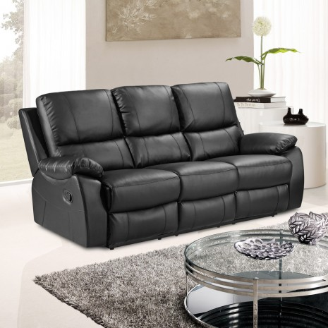 By Http D2ydh70d4b5xgv Cloudfront Images 1 New Black Leather Loveseat Sofa Double Glider Recliner Cup Holder Couch Lazy Boy
